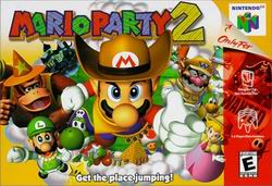 Mario Party 2 (USA) Box Scan
